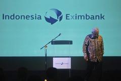 INDONESIEN EXIMBANK, ZUM VON VON BINDUNGEN ANZUHEBEN Lizenzfreies Stockfoto
