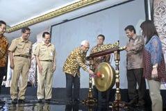 INDONESIEN EXIMBANK, ZUM VON VON BINDUNGEN ANZUHEBEN Lizenzfreie Stockbilder