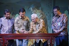 INDONESIEN EXIMBANK, ZUM VON VON BINDUNGEN ANZUHEBEN Stockfotografie