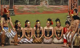 INDONESIEN IDÉRIKA JOBB Royaltyfria Bilder