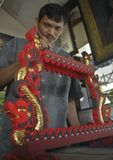 INDONESIEN-INFLATION FEBRUAR Stockbilder