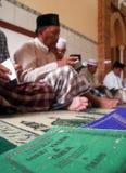 INDONESIEN INTER--KLOSTERBRODER KONFLIKT Royaltyfria Bilder