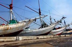 Indonesien, Jakarta: Sunda Kelapa Lizenzfreie Stockfotos