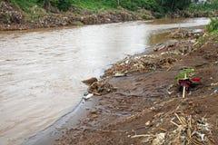 Indonesien katastrofstörtflod - Garut 042 Royaltyfri Foto
