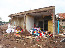 Indonesien katastrofstörtflod - Garut 041 Arkivbild