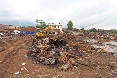 Indonesien katastrofstörtflod - Garut 040 Arkivfoto