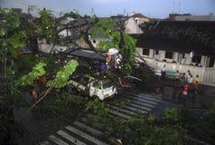 INDONESIEN-KLIMA-ÜBERBLICK stockfoto