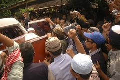 INDONESIEN-KRIEG GEGEN DEN TERRORISMUS Stockbild