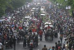 INDONESIEN-KUNST UND -KULTUR stockbild