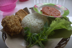 Indonesien-Lebensmittel Stockfotos