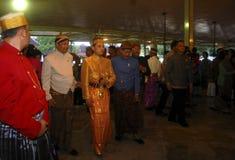 INDONESIEN MER VISUM FRIGÖR ÖVERENSKOMMELSE Royaltyfri Fotografi