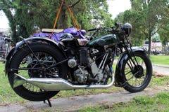 Indonesien motorcykelantikvitet Arkivfoton