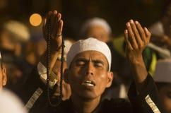 INDONESIEN NY RÄKNING PÅ RELIGIÖS FRIHET Arkivbilder