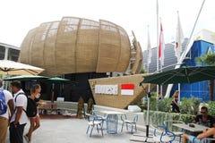 Indonesien-Pavillon lizenzfreies stockfoto