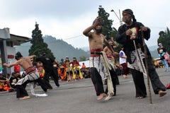 Indonesien Reog Ponorogo Royaltyfria Foton