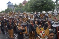 INDONESIEN-RUPIE-SCHWÄCHUNGSvorteil Stockfoto