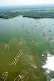 INDONESIEN SÖTVATTENS- FISKERISPÄNNING Royaltyfri Foto