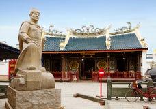 Indonesien semarang Kinesisk tempel Tay Kak Sie Temple Fotografering för Bildbyråer