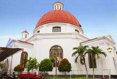 indonesien semarang Kirche Blenduk Stockbild