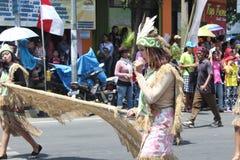 Indonesien självständighetsdagenkarneval Fotografering för Bildbyråer