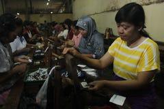 INDONESIEN SMÅ OCH MEDELSTORA FÖRETAGSPÄNNING Fotografering för Bildbyråer