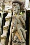 Indonesien - Stammes- Kultur des Dayak Stockfoto