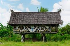 Indonesien - Stammes- Kultur des traditionellen Dayak Lizenzfreie Stockbilder