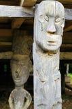 Indonesien - Stammes- Kultur des traditionellen Dayak, Borneo Lizenzfreies Stockfoto