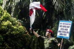 INDONESIEN STARKAST ARMÉMAN Royaltyfria Foton