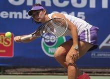 Indonesien-Tennisspieler Beatrice Gumulya Lizenzfreies Stockfoto