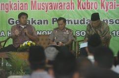INDONESIEN TERRITORIELL FÖRSVARDOKTRIN fotografering för bildbyråer