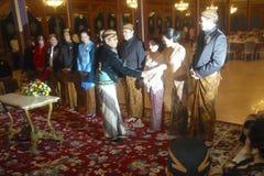 INDONESIEN-TOURISMUS-BESUCHS-ABNAHME Stockfoto