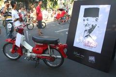 Indonesien traditionella musikmaestror royaltyfri fotografi
