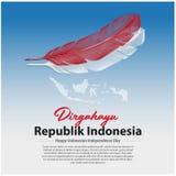 INDONESIEN-UNABH?NGIGKEITSTAG lizenzfreies stockbild