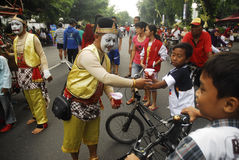 INDONESIEN-UNTERERNÄHRUNG lizenzfreies stockbild