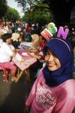 INDONESIEN-UNTERERNÄHRUNG lizenzfreies stockfoto