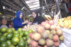 INDONESIENS WAHLschwelle Stockfotos