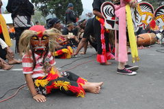 Indonesier Reog-ponorogo Stockfotos