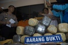 INDONESISCH DOODVONNIS OP MARIHUANAverkoop Royalty-vrije Stock Afbeelding