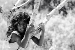 Indonesisch etnisch kind stock foto