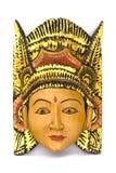 Indonesisch Houten Masker Royalty-vrije Stock Afbeeldingen