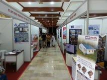 indonesische Ausstellung 2017 am Haus von Indonesien hier an Davao-Stadt lizenzfreies stockbild