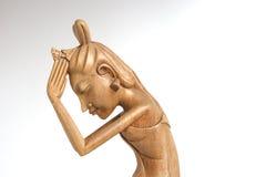 Indonesische (Bali-) Andenken (Skulptur Lizenzfreie Stockfotos