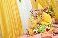Indonesische Brautpaare Lizenzfreie Stockfotografie