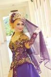 Indonesische bruid Stock Fotografie