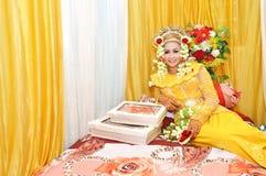 Indonesische bruids Royalty-vrije Stock Foto's