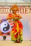 Indonesische danser Royalty-vrije Stock Foto's