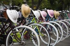 Indonesische Fahrräder Lizenzfreie Stockbilder
