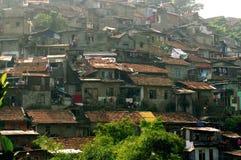 Indonesische huizen Stock Afbeeldingen