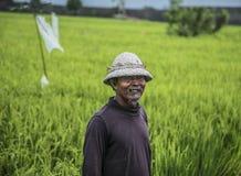 Indonesische Landbouwer Royalty-vrije Stock Afbeeldingen